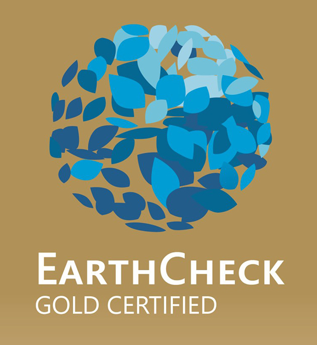 EarthCheck Gold Certificate