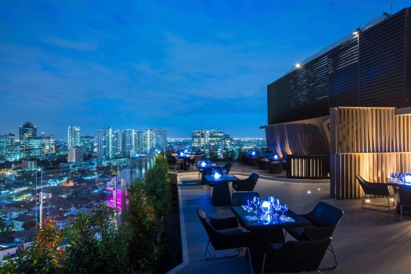 Blue Sky Bar at Centara Grand at Central Plaza Ladprao Bangkok