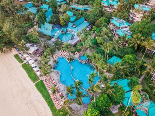 Centara Grand Beach Resort & Villas, Krabi Aerial View
