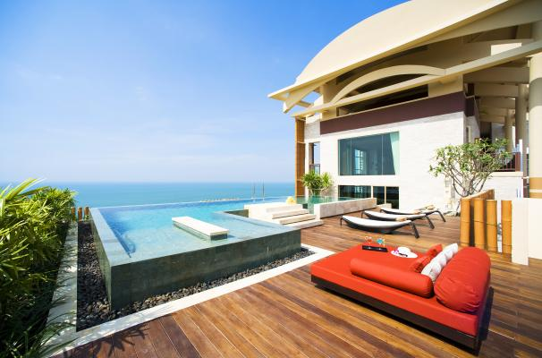 Club Mirage Royal Suite at Centara Grand Mirage Beach Resort Pattaya
