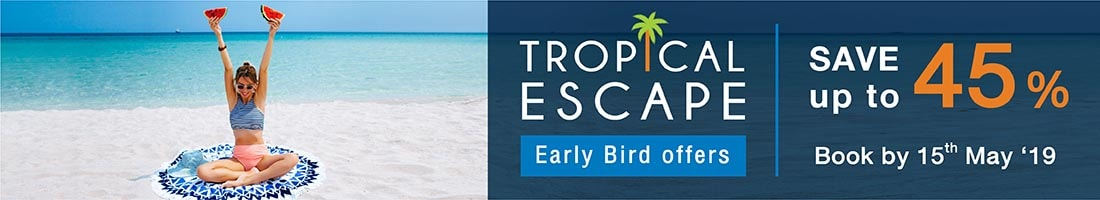 HOT DEAL ON A TROPICAL ESCAPE