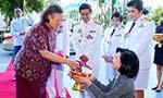 "H.R.H. Princess Maha Chakri Sirindhorn opens  ""Thailand Research Expo 2015''"