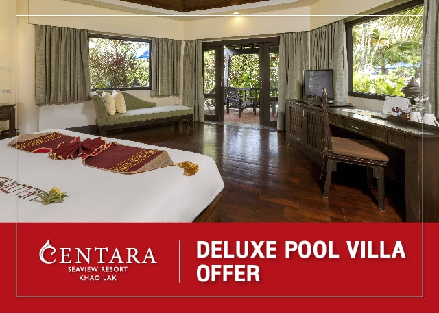 Deluxe Pool Villa offer