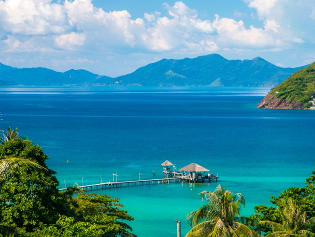 The most peaceful islands in Thailand
